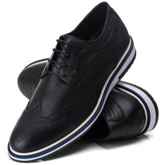 Sapato Masculino Social Elegante Moderno em Couro [2104]